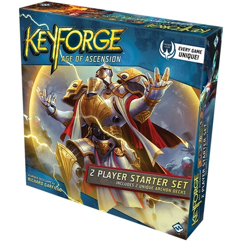 KeyForge: Age of Ascension 2-Player Starter Set [Card Game, 2 Players]