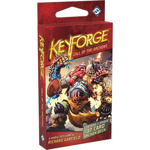 KeyForge: Call of the Archons – Archon Deck [Card Game, 2 Players]