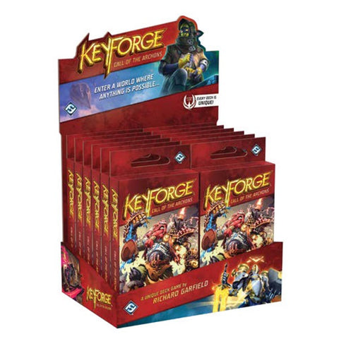 KeyForge: Call of the Archons – 12 Archon Decks Display Box [Card Game, 2 Players]