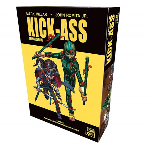 Kick-Ass: The Board Game [Board Game, 1-4 Players]