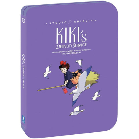 Kiki's Delivery Service - Limited Edition SteelBook [Blu-Ray + DVD]