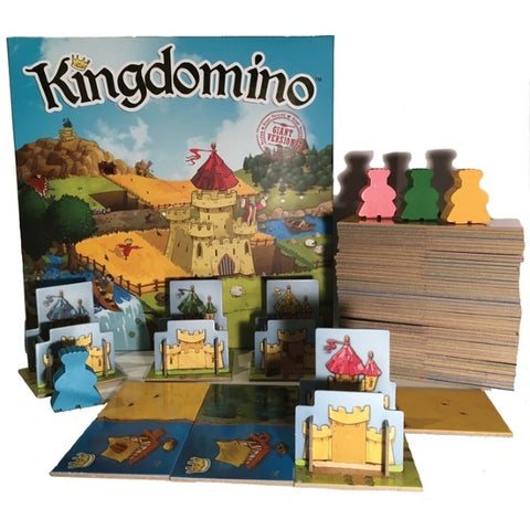 Kingdomino: Giant Version [Board Game, 2-4 Players]