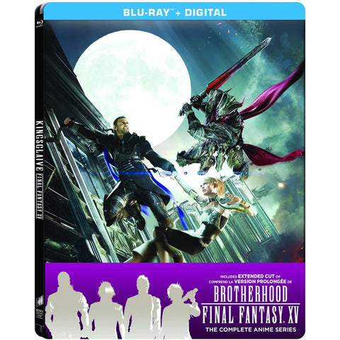 Kingsglaive: Final Fantasy XV - Limited Edition SteelBook [Blu-Ray + Digital]