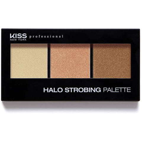 Kiss New York Professional Halo Strobing Pallet - Dark [Beauty]