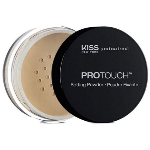Kiss New York Professional Pro Touch Setting Powder - Banana [Beauty]