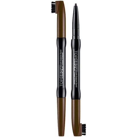 Kiss New York Professional Top Brow Auto Eyebrow Pencil - Light Brown [Beauty]