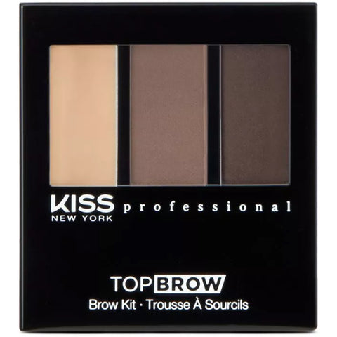 Kiss New York Professional Top Brow Brow Kit - Brunette [Beauty]