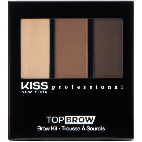 Kiss New York Professional Top Brow Brow Kit - Chocolate [Beauty]