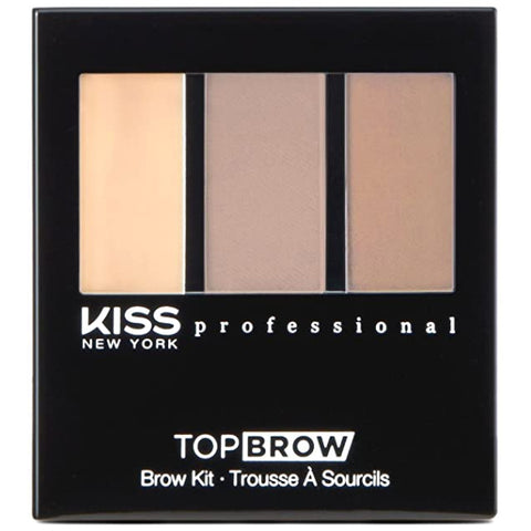 Kiss New York Professional Top Brow Brow Kit - Taupe [Beauty]