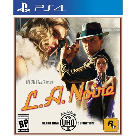 L.A. Noire - Remastered [PlayStation 4]