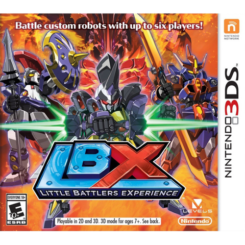 LBX: Little Battlers eXperience [Nintendo 3DS]