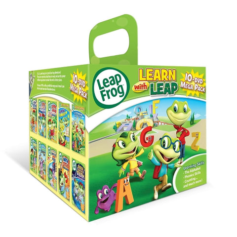 LeapFrog: Learn With Leap - 10-DVD Mega Pack [DVD Box Set]