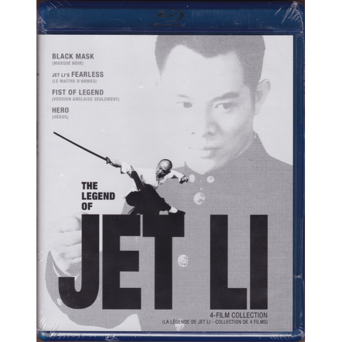 The Legend Of Jet Li: Black Mask / Fearless / Fist Of Legend / Hero [Blu-Ray Box Set]