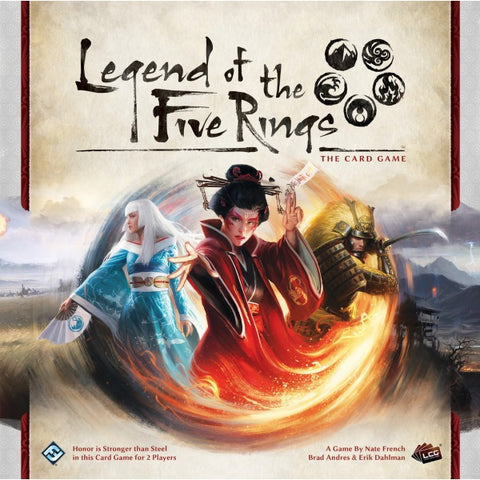 Legend of the Five Rings - The Living Card Game [Card Game, 2 Players]