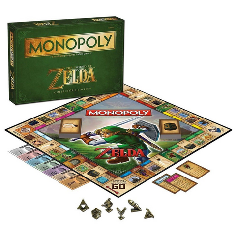 The Legend Of Zelda Collector's Edition Monopoly [Board Game, 2-6 Players]