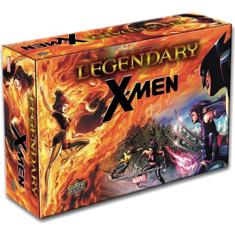 Legendary: A Marvel Deck Building Game - X-Men Expansion [Card Game, 1-5 Players]