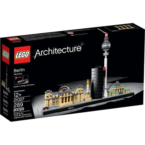 LEGO Architecture Berlin Skyline 289 Piece Building Kit [LEGO, #21027, Ages 12+]