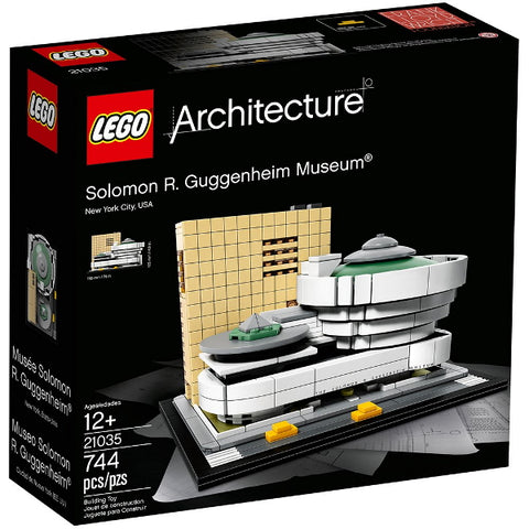 LEGO Architecture: Solomon R. Guggenheim Museum - 744 Piece Building Kit [LEGO, #21035, Ages 12+]