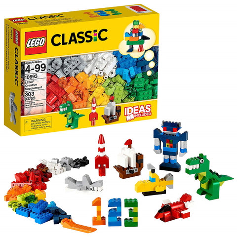 LEGO Classic: Creative Supplement - 303 Piece Building Block Set [LEGO, #10693, Ages 4-99]
