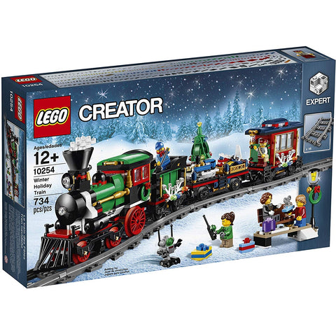 LEGO Creator: Winter Holiday Train - 734 Piece Building Set [LEGO, #10254, Ages 12+]