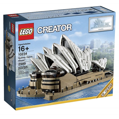 LEGO Creator: Sydney Opera House - 2989 Piece Building Set [LEGO, #10234, Ages 16+]