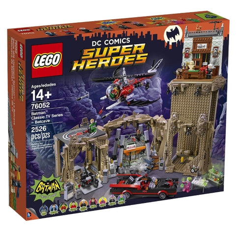 LEGO Batman Classic TV Series Batcave 2526 Piece Building Kit [LEGO, #76052, Ages 14+]