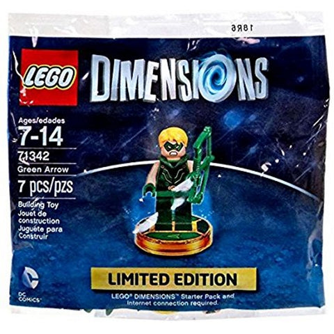 LEGO Dimensions 7 Piece Green Arrow Limited Edition Minifigure [LEGO, #71342, Ages 7+]