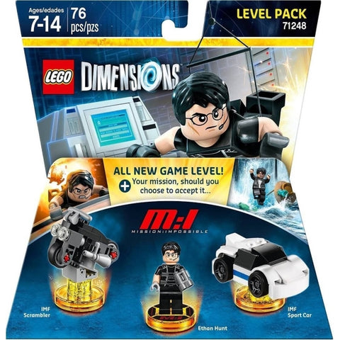 LEGO Dimensions: Mission: Impossible Level Pack - 76 Pieces [LEGO, #71248, Ages 7+]