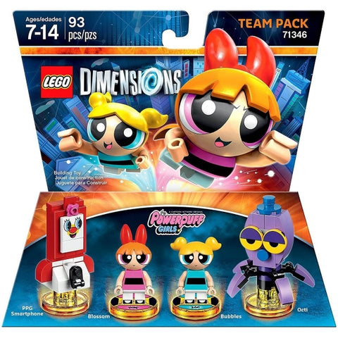 LEGO Dimensions: The Powerpuff Girls Team Pack - 76 Pieces [LEGO, #71346, Ages 7+]