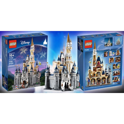 LEGO Disney Castle 4080 Piece Building Kit [LEGO, #71040, Ages 16+]