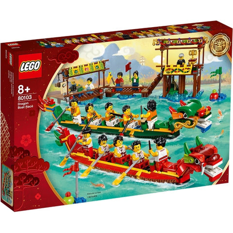 LEGO Dragon Boat Race - 643 Piece Building Set [LEGO, #80103, Ages 8+]