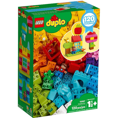 LEGO DUPLO: Creative Fun - 120 Piece Building Brick Set [LEGO, #10887, Ages 1.5+]