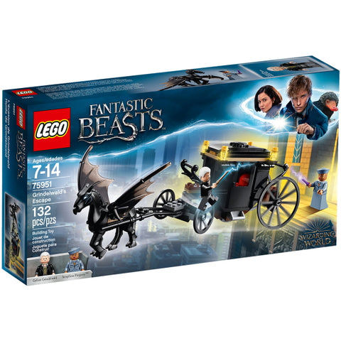 LEGO Fantastic Beasts: Grindelwald's Escape - 132 Piece Building Kit [LEGO, #75951, Ages 7-14]