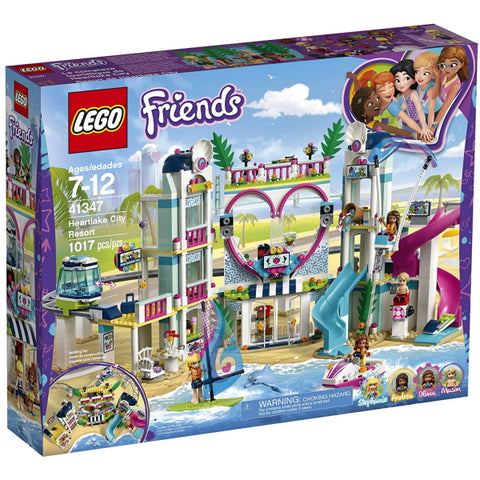LEGO Friends: Heartlake City Resort - 1017 Piece Building Kit [LEGO, #41347, Ages 7-12]