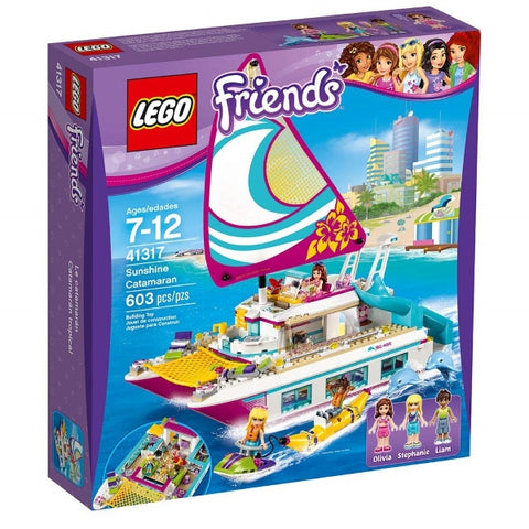 LEGO Friends: Sunshine Catamaran - 603 Piece Building Set [LEGO, #41317, Ages 7-12]