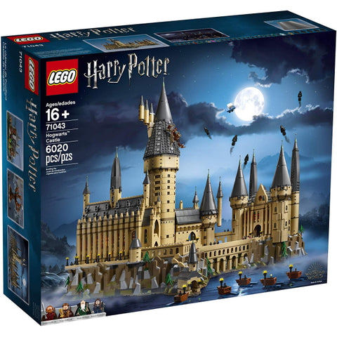 LEGO Harry Potter: Hogwarts Castle - 6020 Piece Building Kit [LEGO, #71043, Ages 16+]