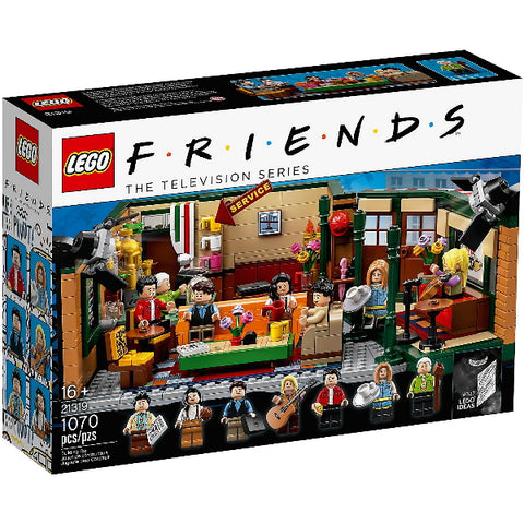LEGO Ideas: Friends The Television Series Central Perk - 1070 Piece Building Set [LEGO, #21319, Ages 16+]
