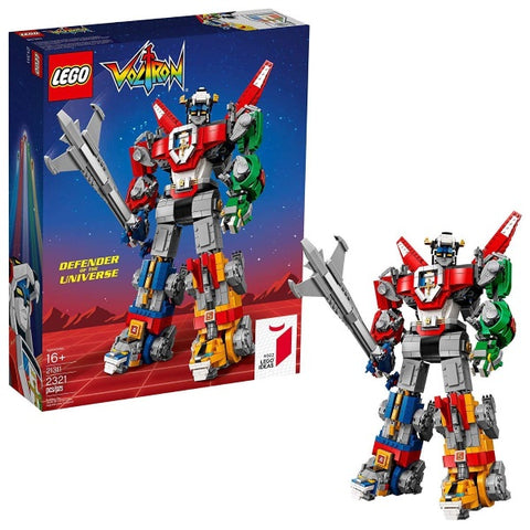 LEGO Ideas: Voltron - Defender of the Universe - 2321 Piece Building Kit [LEGO, #21311, Ages 16+]
