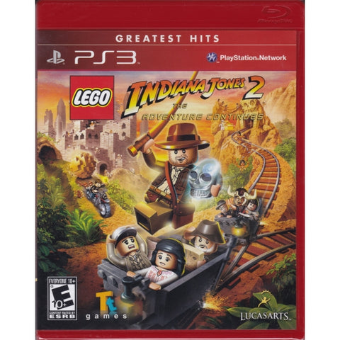LEGO Indiana Jones 2: The Adventure Continues [PlayStation 3]