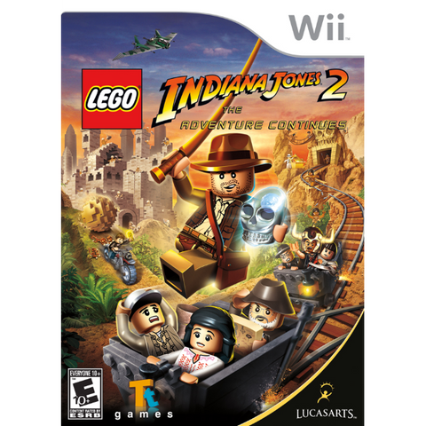 LEGO Indiana Jones 2: The Adventure Continues [Nintendo Wii]