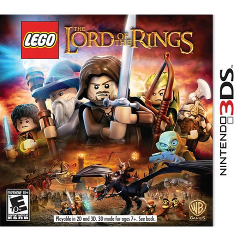 LEGO The Lord Of The Rings [Nintendo 3DS]