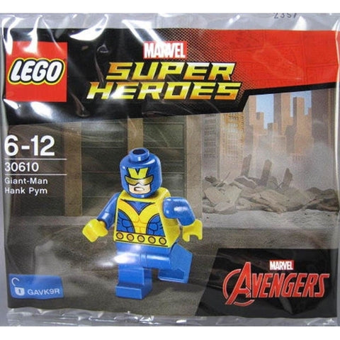 LEGO Marvel Avengers Super Heroes - Giant-Man Hank Pym [LEGO, #30610, Ages 6+]