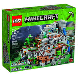 LEGO Minecraft: The Mountain Cave 2863 Piece Building Kit [LEGO, #21137, Ages 12+]