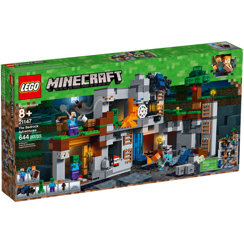 LEGO Minecraft: The Bedrock Adventures - 644 Piece Building Kit [LEGO, #21147, Ages 8+]