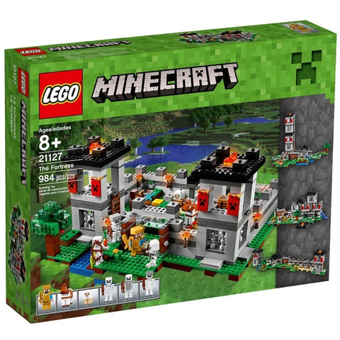 LEGO Minecraft The Fortress 2984 Piece Building Kit [LEGO, #21127, Ages 8+]