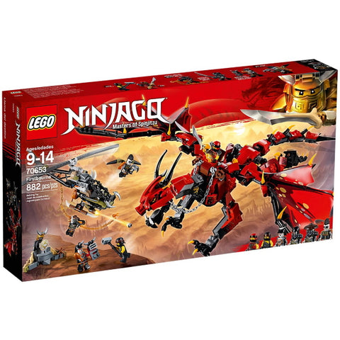 LEGO Ninjago: Masters of Spinjitzu - Firstbourne - 882 Piece Building Set [LEGO, #70653, Ages 9-14]