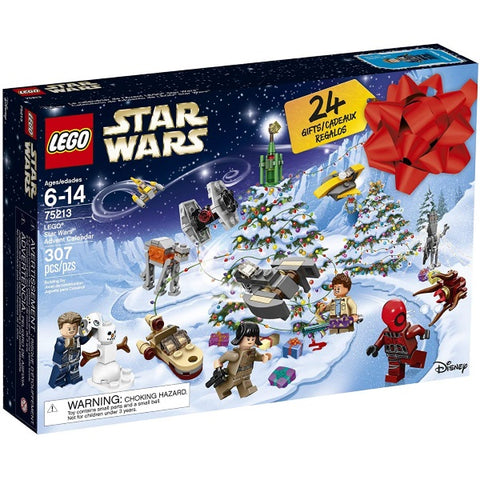 LEGO Star Wars 307 Piece Advent Calendar Building Kit - 2018 Edition [LEGO, #75213, Ages 6-14]