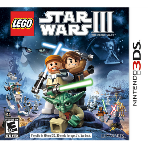LEGO Star Wars III: The Clone Wars [Nintendo 3DS]