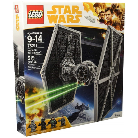 LEGO Star Wars: Imperial TIE Fighter - 519 Piece Building Set [LEGO, #75211, Ages 9-14]