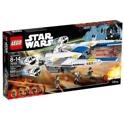 LEGO Star Wars: Rebel U-Wing Fighter - 659 Piece Building Set [LEGO, #75155, Ages 8-14]